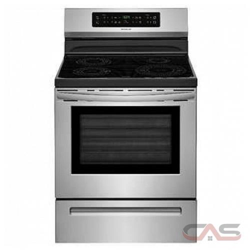 Frigidaire CFIF3054TS 0 Exterior Width, Self Clean, 4 Burners, Induction Elements