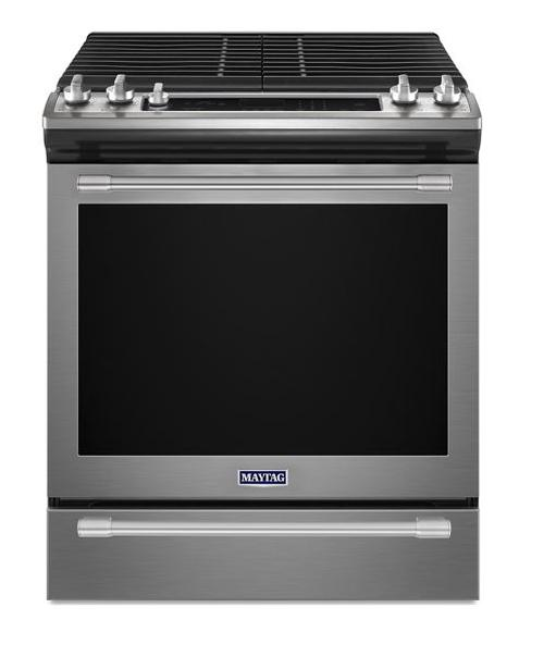 Maytag 30-INCH WIDE GAS RANGE WITH TRUE CONVECTION  MGS8800FZ