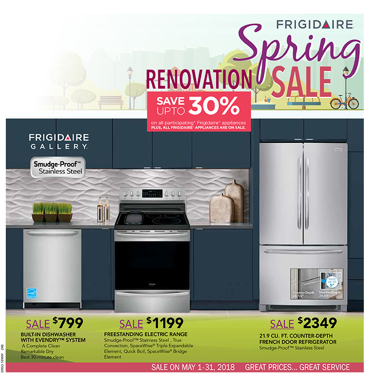 Laketown Furnishings Frigidaire