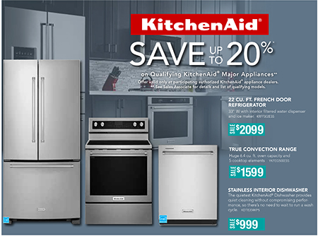 Laketown Furnishings KitchenAid Sale