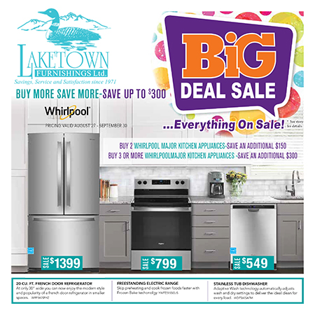 Laketown Furnishings Big Deal Sale